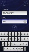 VAT Validator Touch Symbian Mobile Phone Application