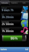 Nokia Battery Monitor Application for Symbian Mobile Phone