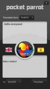 Pocket Parrot Application for  Mobile Phone