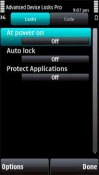 Advanced Device Locks Pro Symbian Mobile Phone Application