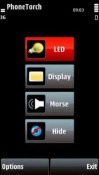 Phone Torch Symbian Mobile Phone Application