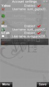 Slick Messenger Symbian Mobile Phone Application