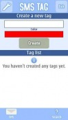 SMS Tag Symbian Mobile Phone Application