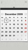 Wall Calendar Touch Symbian Mobile Phone Application