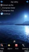 Zip utility Java Mobile Phone Application