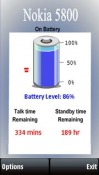 Battery Symbian Mobile Phone Application
