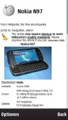Wikipedia Widget Symbian Mobile Phone Application