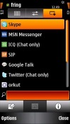 Fring 5800 Early Access Application for Symbian Mobile Phone