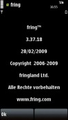 Fring Application for Symbian Mobile Phone