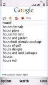 Google Search Nokia 5530 XpressMusic Application