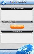 Google Translator Application for  Mobile Phone