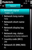 Phone Info Symbian Mobile Phone Application