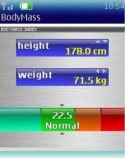 Body Meter Application for Java Mobile Phone