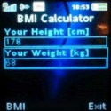 BMI Calculator QMobile Double Dhamal Application
