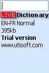 English - French dictionary - LIVE QMobile Double Dhamal Application