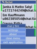 FBChat Java Mobile Phone Application