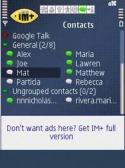 IM+ Pro Samsung S5611 Application