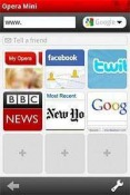 Opera Mini Web Browser Java Mobile Phone Application