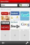 Opera Mini Web Browser Java Mobile Phone Application