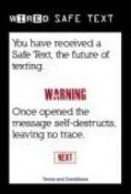 Safe Text QMobile Hero One Application
