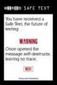 Safe Text Samsung F500 Application