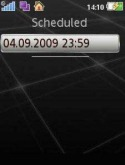 SMS scheduler Samsung F500 Application