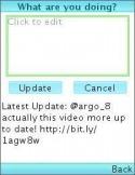 Snaptu Twitter Java Mobile Phone Application