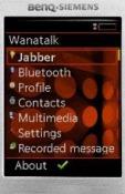 Wanatalk LG A395 Application