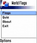 World Flags Application for Java Mobile Phone