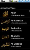 99 Names of Allah Android Mobile Phone Application