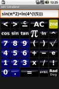 Adv Calculator Samsung Galaxy Tab A 10.5 Application