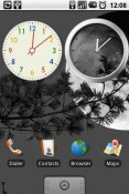 Analog Clock Collection Android Mobile Phone Application