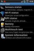 Phone Tester Sony Xperia L3 Application