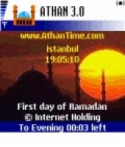 ATHAN (PRAYER TIME) Samsung F500 Application