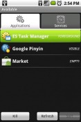 ES Task Manager Android Mobile Phone Application