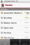 Flasher Android Mobile Phone Application
