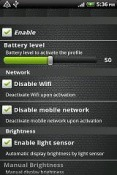 BatterySave Free Application for Android Mobile Phone