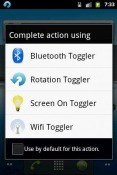Bluetooth Toggler Android Mobile Phone Application