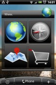 Browser Widget Android Mobile Phone Application