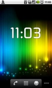 ClockWidget Android Mobile Phone Application