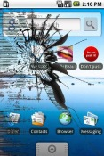 Cracked Screen Application for QMobile NOIR A5