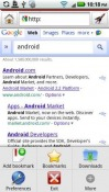 Droid Surfing Android Mobile Phone Application