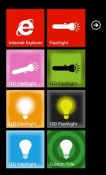 LED Flashlight Windows Mobile Phone Application