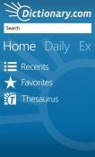 Dictionary.com Windows Mobile Phone Application