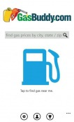 GasBuddy Windows Mobile Phone Application