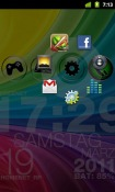 Circle Launcher Light Android Mobile Phone Application