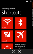Connectivity Shortcuts Windows Mobile Phone Application