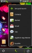 Quick Launcher Home Android Mobile Phone Application