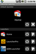 Launcher Switcher Application for LG Optimus L9 P769