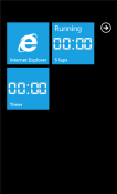 Stopwatch Windows Mobile Phone Application